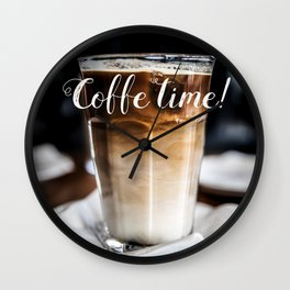 Coffe time! Wall Clock