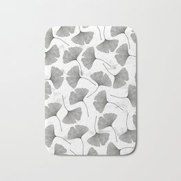 ginkgo biloba pattern Bath Mat
