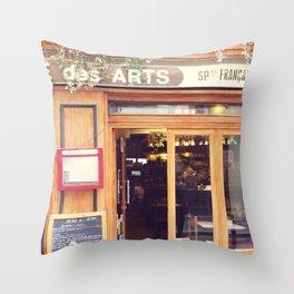 Paris, des Arts Throw Pillow