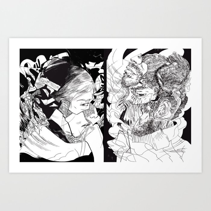 I'MFINEANDYOU? Art Print