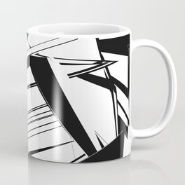 History of Art in Black and White. Futurism Coffee Mug