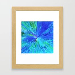 347 - Abstract colour design Framed Art Print