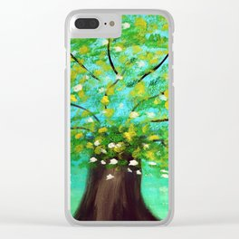 Shade Tree Clear iPhone Case