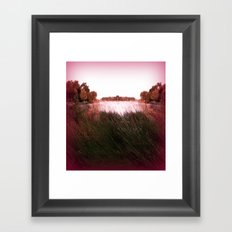 Manu Island Summer Framed Art Print