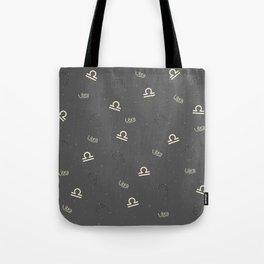 Libra Pattern Tote Bag