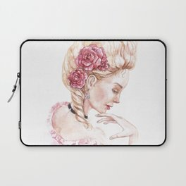 The image of Marie Antoinette Laptop Sleeve