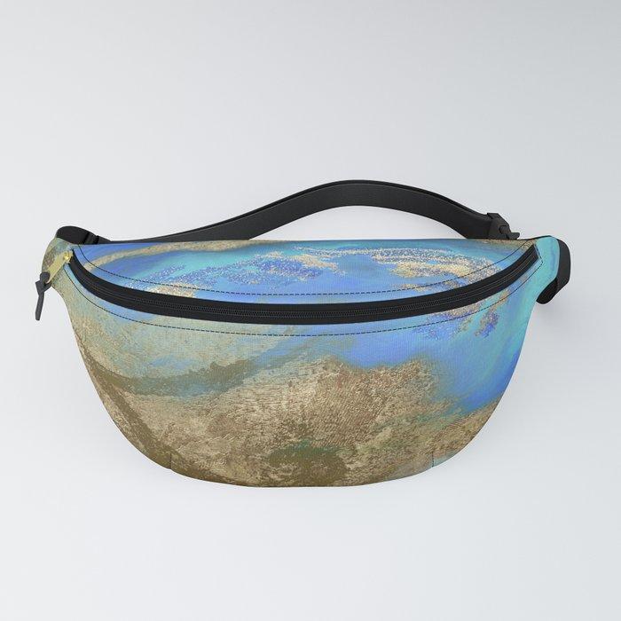 Cobalt Sea Fanny Pack