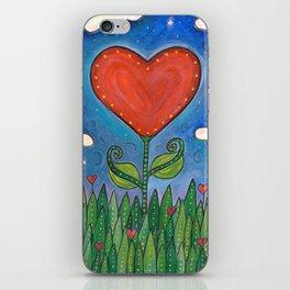 Let Love Grow iPhone Skin