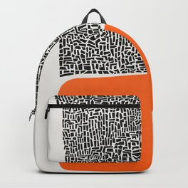 City Sunset Abstract Backpack