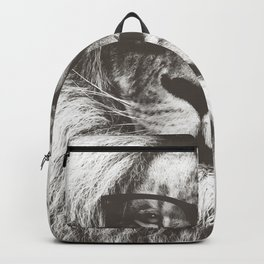 Lion in glasses Backpack