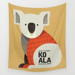 Hello Koala Wall Tapestry