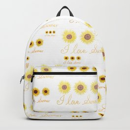 I love summer Backpack
