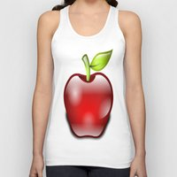 apple Tank Tops featuring APPLE by Acus