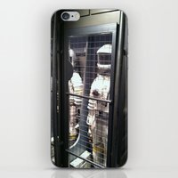 spaceman iPhone & iPod Skins featuring Spaceman by Brittany Bennett