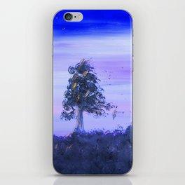 """Tree Line #7"" Original Painting Enhanced iPhone Skin"