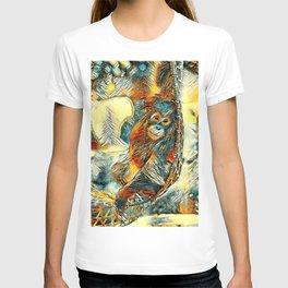 AnimalArt_OrangUtan_20170605_by_JAMColorsSpecial T-shirt