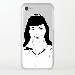 WHOLESOME BETTIE Clear iPhone Case