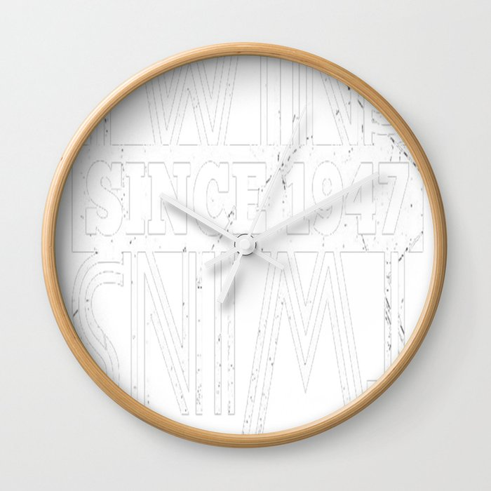 Twins Since 1947 70th Birthday Gifts Wall Clock By Phungtheanh77321