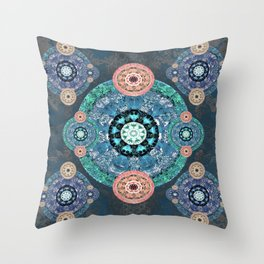 Ultimate Solace Mandala Throw Pillow