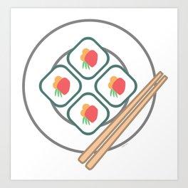 Itadakimasu! Art Print