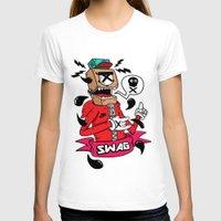 swag T-shirts featuring SWAG by reda el mraki