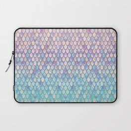 Spring Mermaid Scales Laptop Sleeve