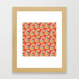 We all get lonely. Framed Art Print