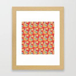 We all get lonely. Framed Art Print