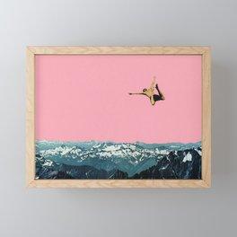 Higher Than Mountains Framed Mini Art Print