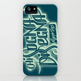 Chi Sogna Disegna - T-Shirt Design iPhone Case