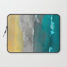 Watercolour Summer beach II Laptop Sleeve