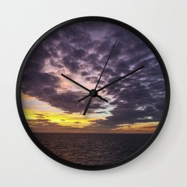 Swirl Away Wall Clock