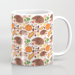 Autumn Hedgehog Coffee Mug