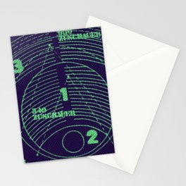 numeric Stationery Cards