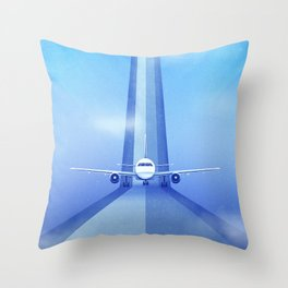 Destination: Dreamland Throw Pillow