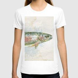 Splashing Rainbow Trout T-shirt