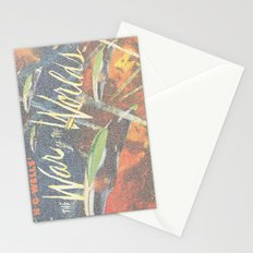 War Of The Worlds Script Print Stationery Cards