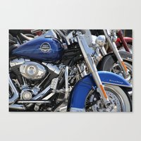 harley Canvas Prints featuring Harley by Veronica Ventress