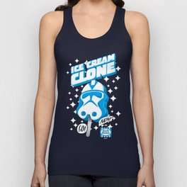 Ice Cream Clone Unisex Tank Top