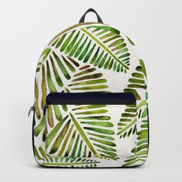 Tropical Banana Leaves – Green Palette Backpack