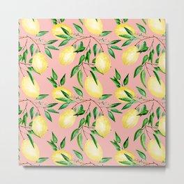 Lemon mood.2 Metal Print