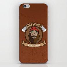 Lumberjack Since 1949 iPhone & iPod Skin