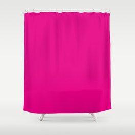 Fuchsia Pink Shower Curtain