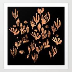 underwater plants Art Print
