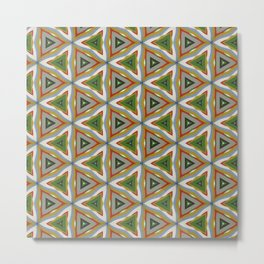 Pattern Artwork Design B9 Metal Print
