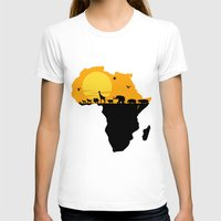 south africa T-shirts featuring Africa by Emir Simsek