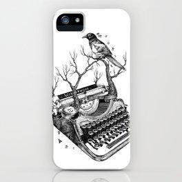 Magpie,  letterhief iPhone Case