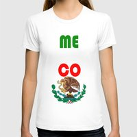 mexico T-shirts featuring Mexico  by RDsix3