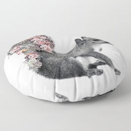 squirrel Floor Pillow
