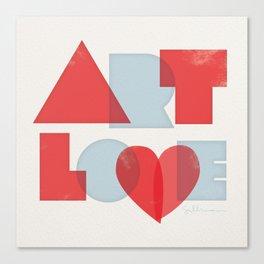 Art Love Canvas Print